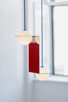 LED direct light pendant lamp LAURENT 05 by Lambert & Fils