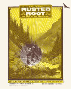 GigPosters.com - Rusted Root