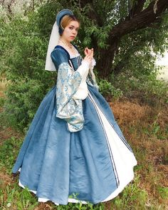 Complete Tudor Gown and Accessories - Customized for you!