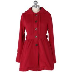 I have always wanted a red coat!