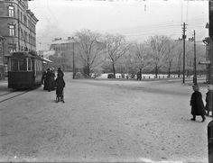 Lapinlahdenkatu-Albertinkatu-Malminrinne, Helsinki,1900-l. alku. Helsinki early 20th century