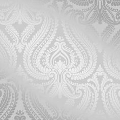 I Love Wallpaper Shimmer Damask Wallpaper Soft Grey / Silver - Wallpaper from I love wallpaper UK Waves Wallpaper, Trellis Wallpaper, Wallpaper Uk, Feature Wallpaper, Designer Wallpaper, Pattern Wallpaper, Bedroom Wallpaper, Grey Damask Wallpaper, Silver Wallpaper