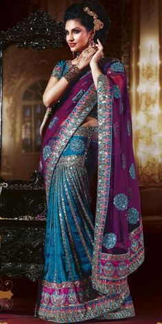 saree- I LOVE the colors of this one! I cant wait to wear mine next weekend!