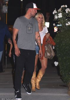 Country cuties: Miranda Lambert, stepped out with fellow singer Sam Hunt, in Hollywood on Wednesday night Anderson East, Sam Hunt, New Start, Future Wife, Cut Off, In Hollywood, Country Music, Music Artists, Country