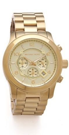 Michael Kors Oversized Watch    $275.00