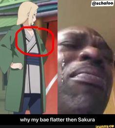 Why my bae flatter then Sakura - why my bae flatter then Sakura - iFunny :) Recent Anime, Oh The Irony, Fairy Tail Cosplay, Funny Naruto Memes, Latest Anime, Anime Reviews, Funny Memes About Girls, Sasuke, Boruto
