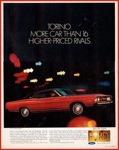 1968 Ford Torino 2-door hardtop