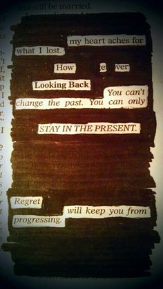 Blackout poetry by Kevin Harrell. This is perfection! Poem Quotes, Words Quotes, Sayings, Pretty Words, Beautiful Words, Creative Destruction, Found Poetry, Blackout Poetry, Poetry Art