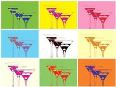 andy warhol wine glass - Google Search