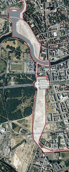 Berlin | Geteilte Stadt. Berliner Mauer. Die offene Streifen der Wand geschnitten quer durch die Innenstadt und lähmte das städtische Leben seit fast 40 Jahren