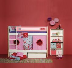 A lot of creative room solutions and practical concepts. We have collected all the room décor ideas and inspirations for girls' room, boys room and baby room. Room Inspiration, Baby Room, Kids Room, Toddler Bed, Room Decor, Concept, Creative, Furniture, Inspired