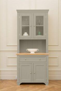 92cm kitchen dresser painted in Hardwicke White by Farrow & Ball