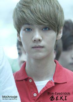 BLUE EYED K-POP IDOLS: #310  Luhan - EXO-M