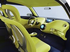 Car interior design ideas     Toys for boys   Pinterest   Car     Nissan Townpod Concept  2010