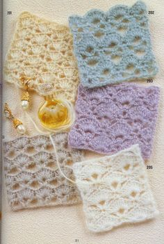 Thread crochet lace patterns (for the jars) Crochet Motif Patterns, Crochet Diagram, Lace Patterns, Crochet Squares, Stitch Patterns, Lace Doilies, Crochet Doilies, Crochet Lace, Crochet Books