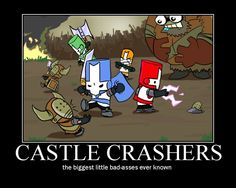 CASTLE CRASHERS by happymanofdoom93 on deviantART