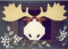 Moose on the Loose Quilt Pattern by Prairie Grove Peddler