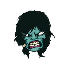 Zombiefy by GUTURO, via Behance