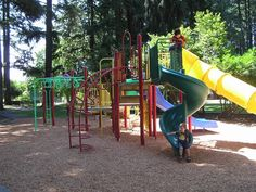 You'll have it made in the shade at these cool Portland playgrounds. Places to find with my W's!!!  :D