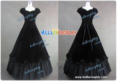 Click to Buy    Southern Belle Civil War Satin Ball Gown Dress H008.    890262290276
