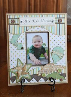 See lots of little boy scrapbook layouts plus other fun ideas incorporating the Playtime Accessory Set by Kiwi Lane Designs. Baby Boy Scrapbook, Scrapbook Bebe, Baby Scrapbook Pages, Scrapbook Sketches, Scrapbook Page Layouts, Scrapbook Cards, Scrapbooking Ideas, Kiwi Lane Designs, Kids Pages