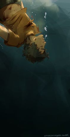anxiouspineapples: how could a child of the sea god drown?