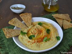 Hummus (Paté árabe de garbanzos)