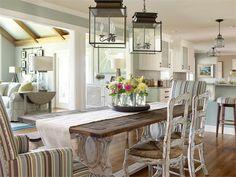 Open Transitional Dining Room by Joann Kandrac & Kelly Kole