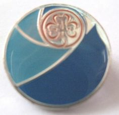 GIRL GUIDES WAGGGS ASIA PACIFIC REGION METAL BADGE | eBay
