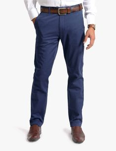 These slim fit chino pants are cut from a fine cotton stretch fabric. It features belted waistband with button closure at centre front and back pockets, contrast printed pocket liners, and a tailored cut which distinguishes it from the average chino. The fabric is remarkably soft for uncompromising comfort#olgyn #malefashion #mesnoutfits #mensstyle #mensfashion #fashionformen #summer2018 #summerfashion #usa #chino #chinopants #menswear Mens Chino Pants, Denim Pants, Denim Outfit, Wholesale Clothing, Stretch Fabric, Centre, Contrast, Menswear