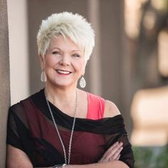 "Hair Beauty - Patricia King: ""God is Empowering Believers to Build 'Love Communities'"" Pixie Haircut For Thick Hair, Short Choppy Hair, Short Spiky Hairstyles, Short Sassy Hair, Haircut For Older Women, Short Grey Hair, Short Pixie Haircuts, Short Hair Cuts For Women, Short Hairstyles For Women"