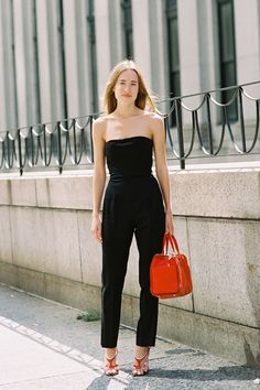Streetstyle photographed by Vanessa Jackman during New York Fashion Week, Spring 2013