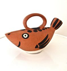 Picasso Ceramic Fish