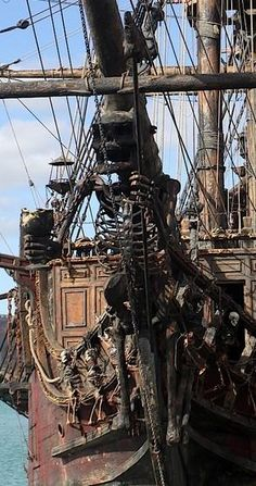 Pirate Ship Figureheads -  ~Repinned Via Sadie MacMillan