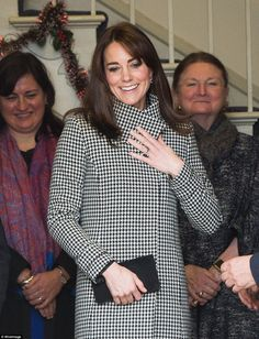Catherine, Duchess of Cambridge makes an official visit to the Action on Addiction Centre for addiction treatment studies at Action on Addiction Centre