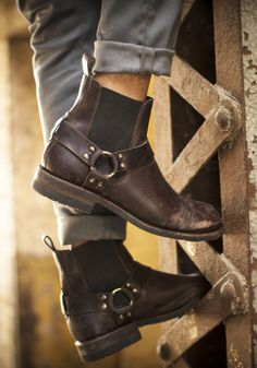 Stone Harness Chelsea Boot | The Frye Company