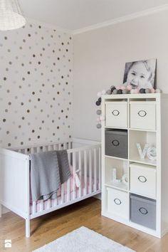 foto de quarto feminino de bebê claro