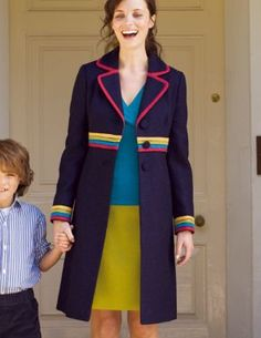 Another one that got away! Boden Rainbow coat..
