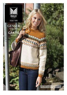 Dale garn oppskrift - Stilfull genser nr. 289-06