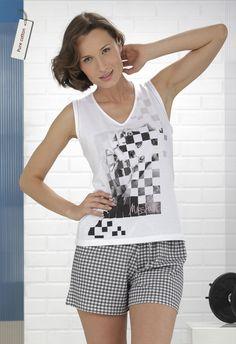 Pijama mujer algodón 100% #homewear #massana