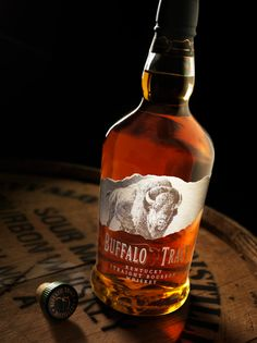 Buffalo Trace - one of my favourite Bourbons. The casks from Buffalo Trace are used as the first barrels to flavour the Penderyn Whisky.