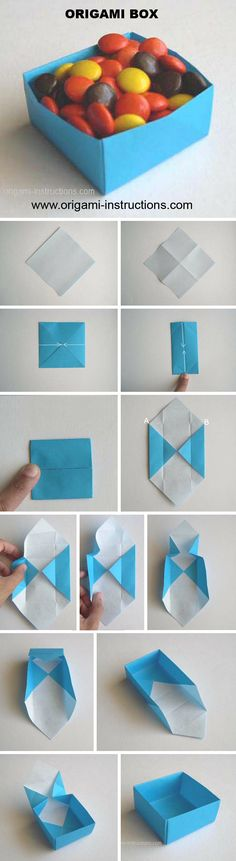 Boîte Origami www.origami-instr … – Origami Community : Explore the best and the most trending origami Ideas and easy origami Tutorial Instruções Origami, Origami And Kirigami, Origami Butterfly, Useful Origami, Origami Wedding, Origami Ideas, Easy Origami Box, Easy Oragami, Origami Hearts