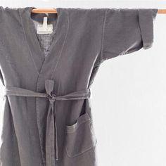 Classic Linen Robe (2 colors)