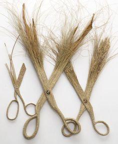 Beth Hatton, grass scissors