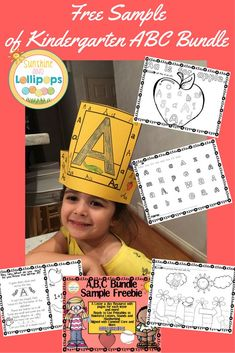 Freebie ALERT!  This freebie is a sampler of 17 pages from a larger ABC BUNDLE…