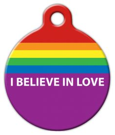 Believe in Love Pet ID Tag for Dogs and Cats - Dog Tag Art * Continue to the product at the image link. (This is an affiliate link) Cat Id Tags, Pet Tags, Cat Training Pads, Cat Shedding, Cat Fleas, Cat Grooming, Pet Id, Love Pet, Cat Collars