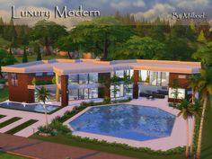 Download Casas/Lotes Luxury Modern Para The Sims 4 - KnySims