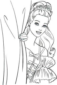 Desenhos da Barbie para Colorir » Desenhosparaimprimir.net ...