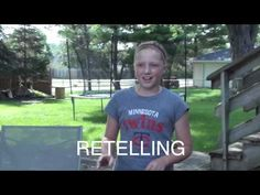 Summarizing & Retelling Video Lesson - teacher created! - Almost a Second Grader - www.almostasecondgrader.com