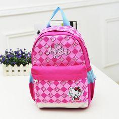 Hello kitty School bags for girls bolsa mochila escolar children backpacks infantil kids bag backpack cartable enfant schoolbag